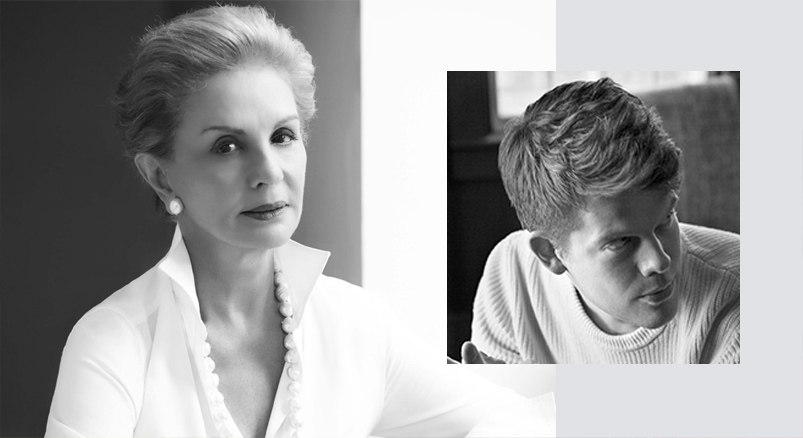 Carolina Herrera and Wes Gordon