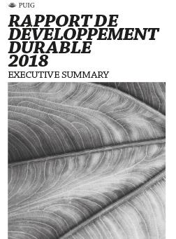 2018 | Rapport de Développement Durable